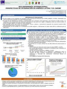 """Figura 1: Presentado en el formato de poster, el trabajo intitulado """"BVS Enfermería Internacional: perspectivas de integración en América Latina y el Caribe"""" recibió el premio de excelencia en la XII Reunión de las Redes Internacionales de Enfermería, en la Habana, Cuba."""