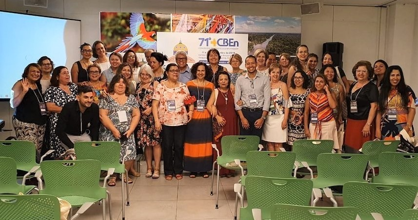 Participantes de la XIX Reunión del Comité Consultivo de la BVS Enfermería Brasil