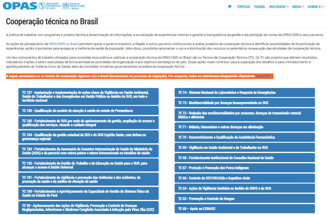 cooperacao-da-bireme-no-contexto-dos-termos-de-cooperacao-com-a-opas-brasil